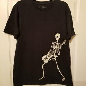 JEM Shirts - Jem T, Skeleton jammin 5 string bass size l
